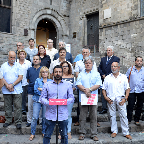 Més d'un centenar de sindicalistes signen un manifest a favor del procés sobiranista