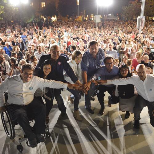 """Oriol Junqueras: """"Los banqueeros del No son los que han destrozado el sistema bancario que los ciudadanos hemos tenido que rescatar"""""""