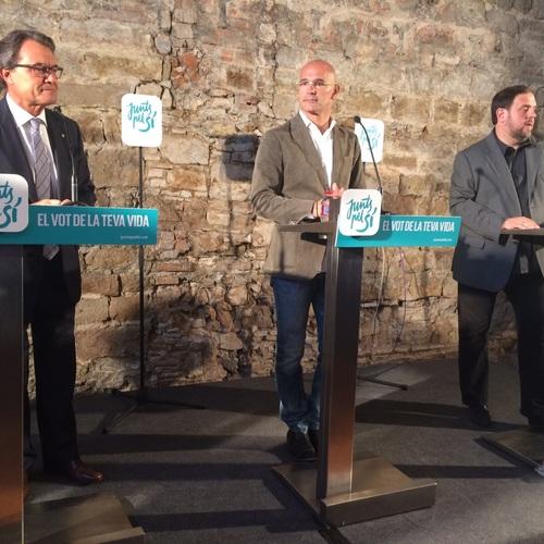 """Raül Romeva: """"Instamos a los otros partidos y al Estado español a respetar el mandato democrático que salga de las urnas"""""""
