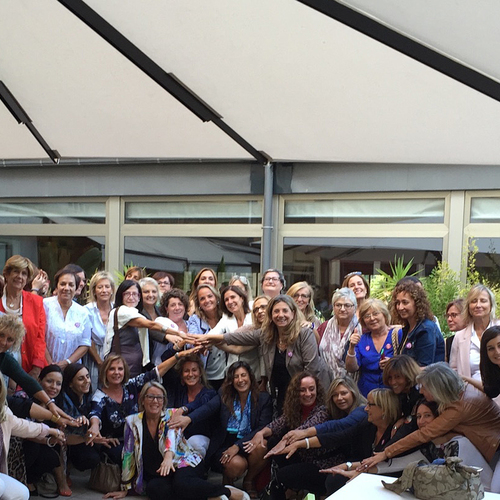Más de 200 mujeres se reúnen en el almuerzo de empresarias de Juntes pel Sí con Muriel Casals, Sílvia Requena y Isona Passola