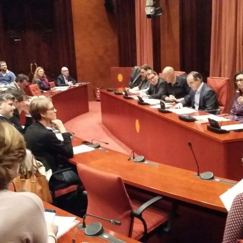 Junts pel Sí nombra a Jordi Turull presidente del Grupo Parlamentario y a Marta Rovira portavoz