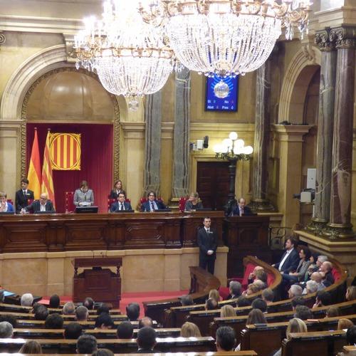 Discurs de la presidenta del Parlament, Carme Forcadell, d'inici de la XI Legislatura