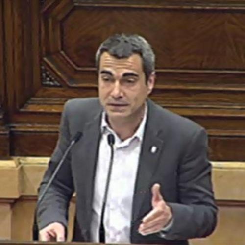 """Joan Ramon Casals: """"La comisión sobre el sector de la automoción pondrá en valor el trabajo realizado por la Generalitat en la industria del automóvil"""""""
