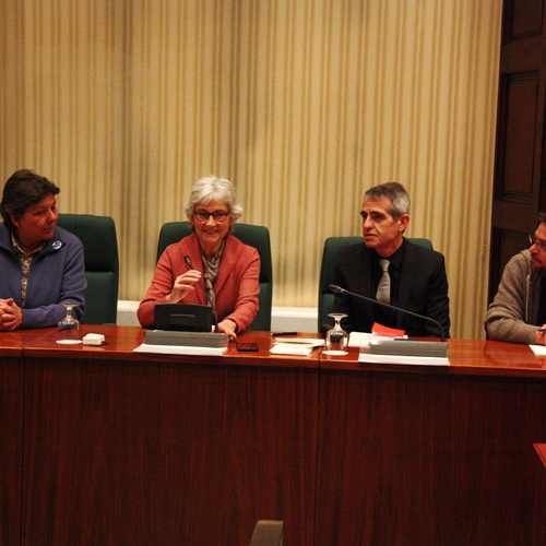 Muriel Casals hace un llamamiento a la participación y a encontrar espacios de confluencia en la Comisión de Estudio del Proceso Constituyente