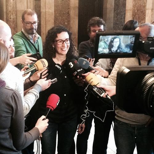 """Rovira: """"Las tres ponencias conjuntas que hemos presentado son fruto del mandato democrático mayoritario y legal del 27S"""""""