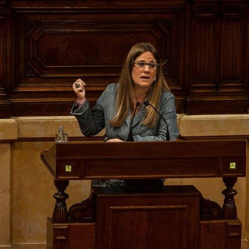 """Anna Figueras: """"Sols amb les estructures d'Estat que plantegem aconseguirem una societat socialment més justa i digna"""""""