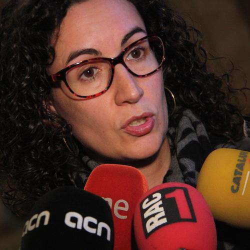 """Rovira: """"Si un tribunal atrevía a prohibir espacios de debate en el Parlamento, estaría prohibiendo directamente la democracia"""""""