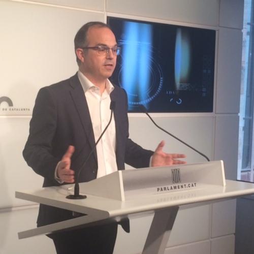 """Turull: """"Ayer de nuevo se comprobó que el Estado español no ofrece ninguna propuesta ni para el mandato democrático del 27S ni en la defensa de los intereses del dia a dia"""""""