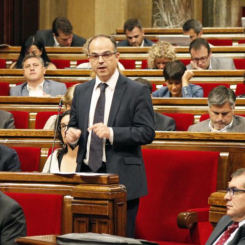 """Turull : """"El Estado español está desesperado y por eso utiliza malas artes para hacer frente a nuestra determinación para alcanzar la independencia"""""""