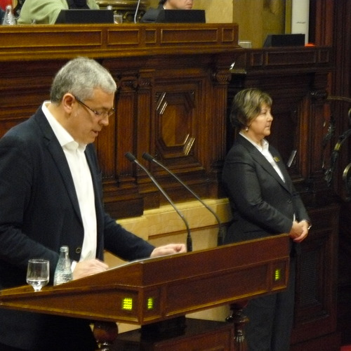 """Jordi Sendra: """"La nova llei de la comunitat catalana a l'exterior atorgarà més drets i deures als catalans i els garantirà l'accés als serveis en les mateixes condicions que els ciutadans que resideixen a Catalunya"""""""