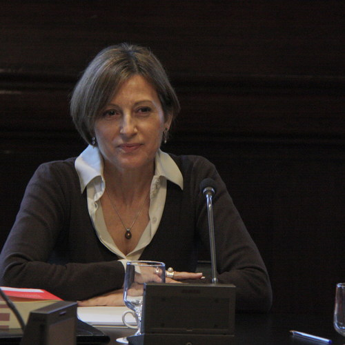 Junts pel Sí y la CUP presentan una propuesta que reclama la libertad de expresión y el derecho de iniciativa de los diputados