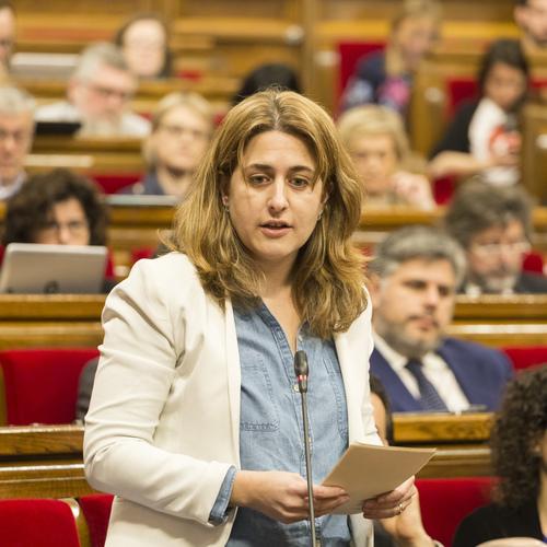 """Marta Pascal: """"Alguns ens van voler imposar la LOMCE quan la LEC ens ha donat confiança, estabilitat i millors resultats"""""""