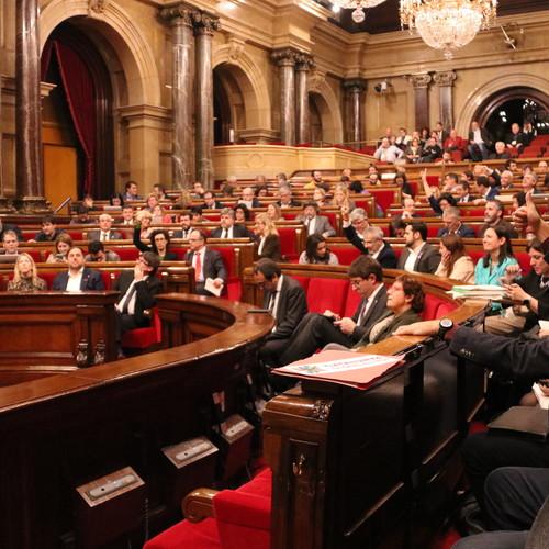 Junts pel Sí impulsa una propuesta de resolución para garantizar el acceso a la universidad de los colectivos con riesgo de exclusión social