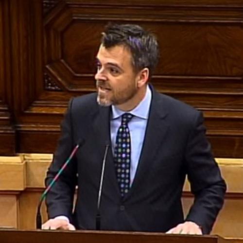 """Jordi Cuminal: """"El Parlamento hace hoy una gran injerencia política aprobando una moción que supone un veto político a un periodista"""""""
