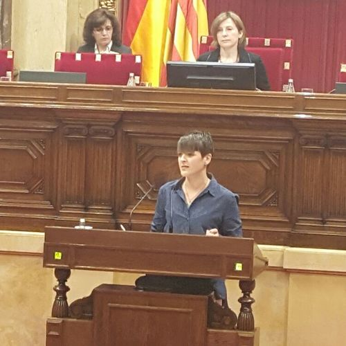 """Natàlia Figueras: """"Hoy se reconocen unos derechos que nos recuerdan que debemos ser libres de discriminaciones"""""""