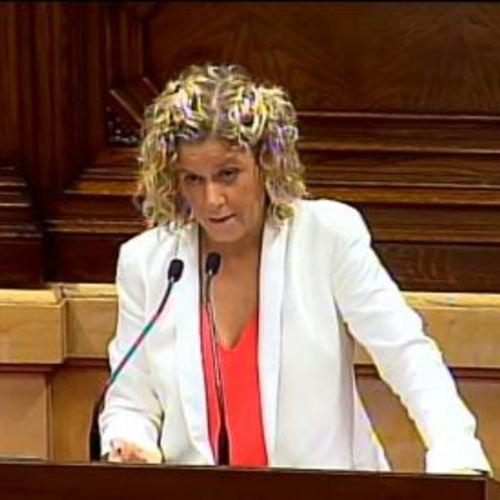 """Meritxell Roigé: """"No ens podem permetre projectes que ens deixin les ciutats i els pobles en pèssimes condicions per als ciutadans"""""""